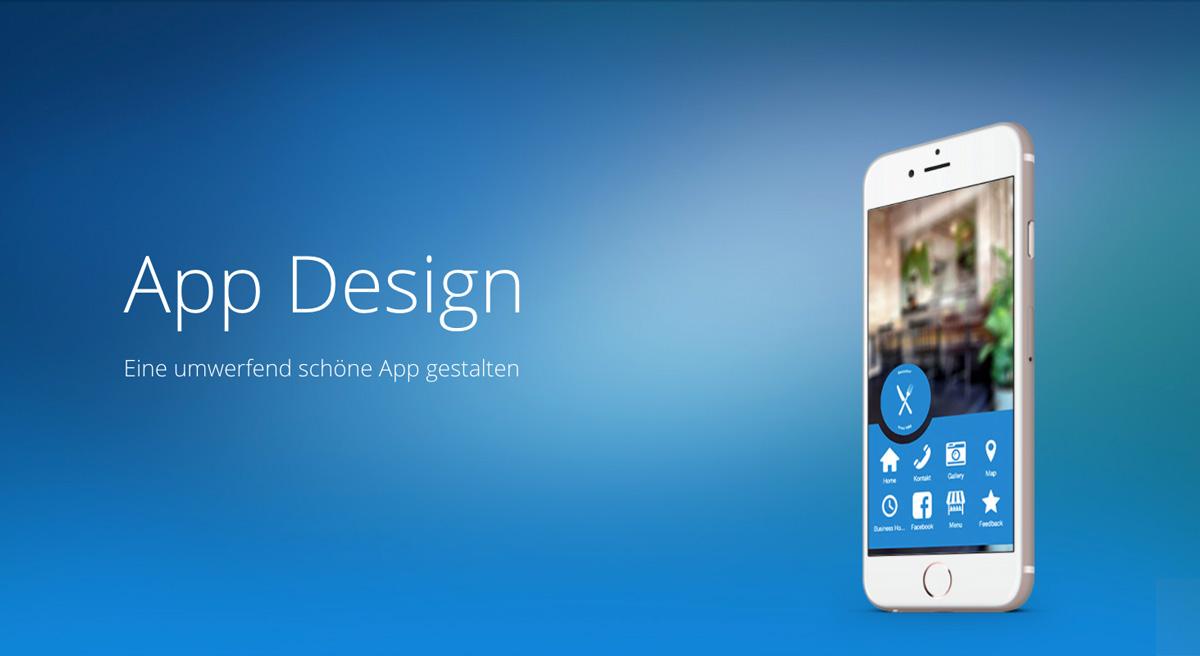 App Design - Eine umwerfend schöne App gestalten