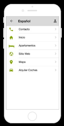 Mehrsprachige App mit Navigation Kacheln und zweiter Sprache
