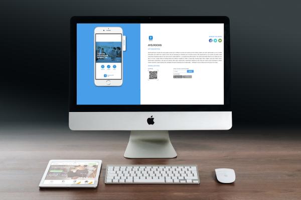 Die neue Landingpage für eine App