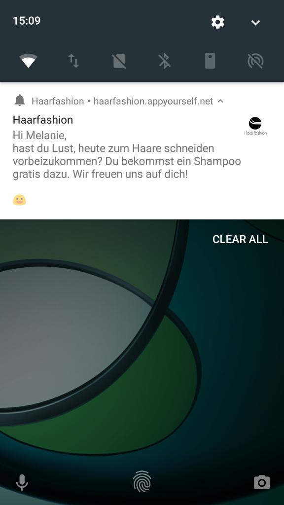 Über Progressive Web Apps individuelle Push Nachrichten verschicken