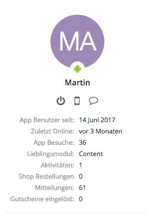 Einen Nutzer über das Nutzerprofil deaktivieren_Nutzer Limit