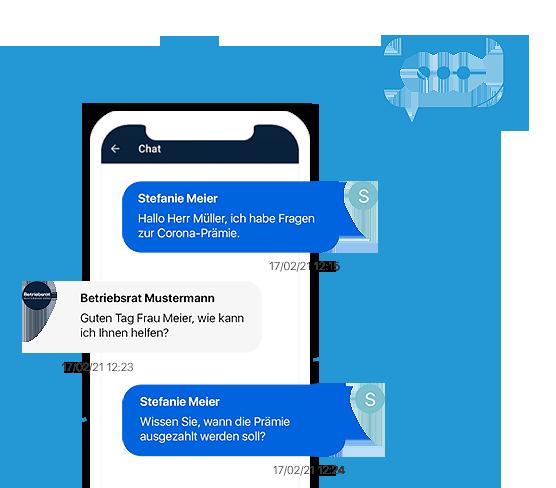 Der Chat Messenger der Marketing-Tools