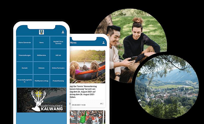 Unser Kalwang-App nutzt die Kampagnen, die Teil der Marketing Tools sind