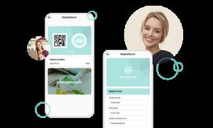 Die digitale Kundenkarte als Teil der App